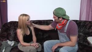 Porno film - Schoonmoeder krijgt een boerenlul van Don en Ad